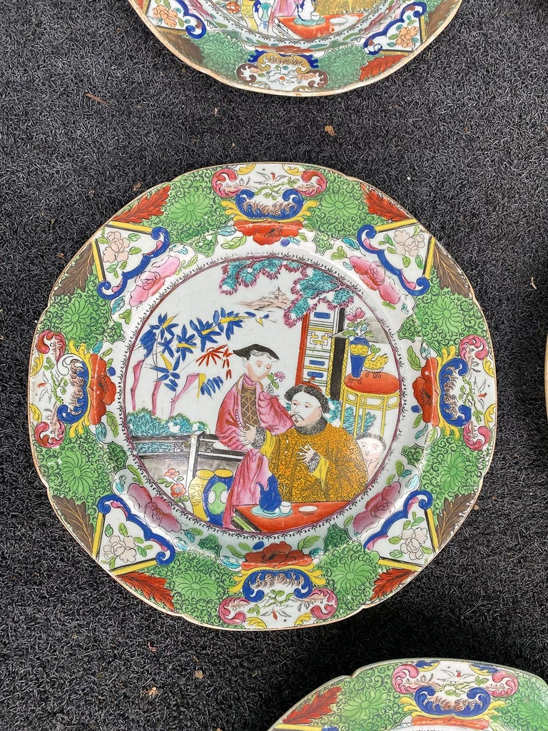 Set of 8 Early 19th Century English Mason's Enameled Ironstone China in Mandarin 9