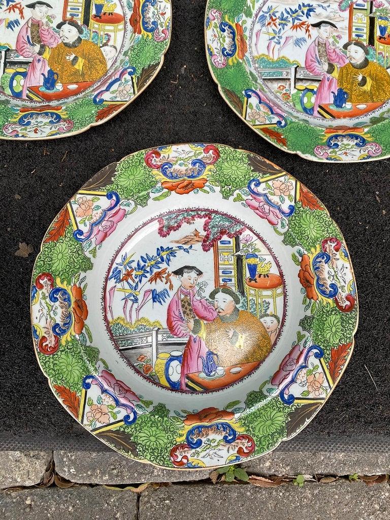 Set of 8 Early 19th Century English Mason's Enameled Ironstone China in Mandarin 11