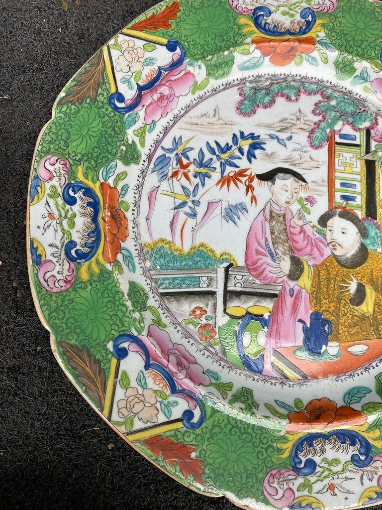 Set of 8 Early 19th Century English Mason's Enameled Ironstone China in Mandarin 14