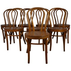 Set of 8  Bentwood Cafe Style Chairs