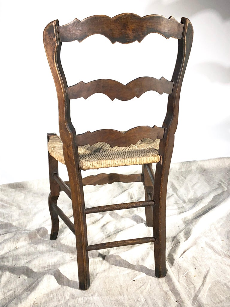 Set of 8 French Country Dining Chairs 3