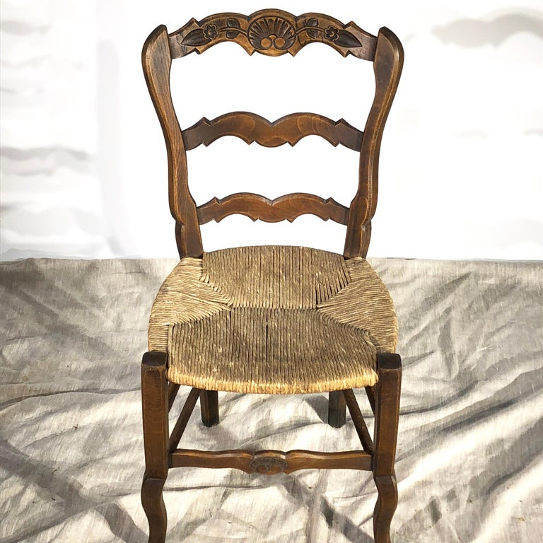 Set of 8 French Country Dining Chairs 10
