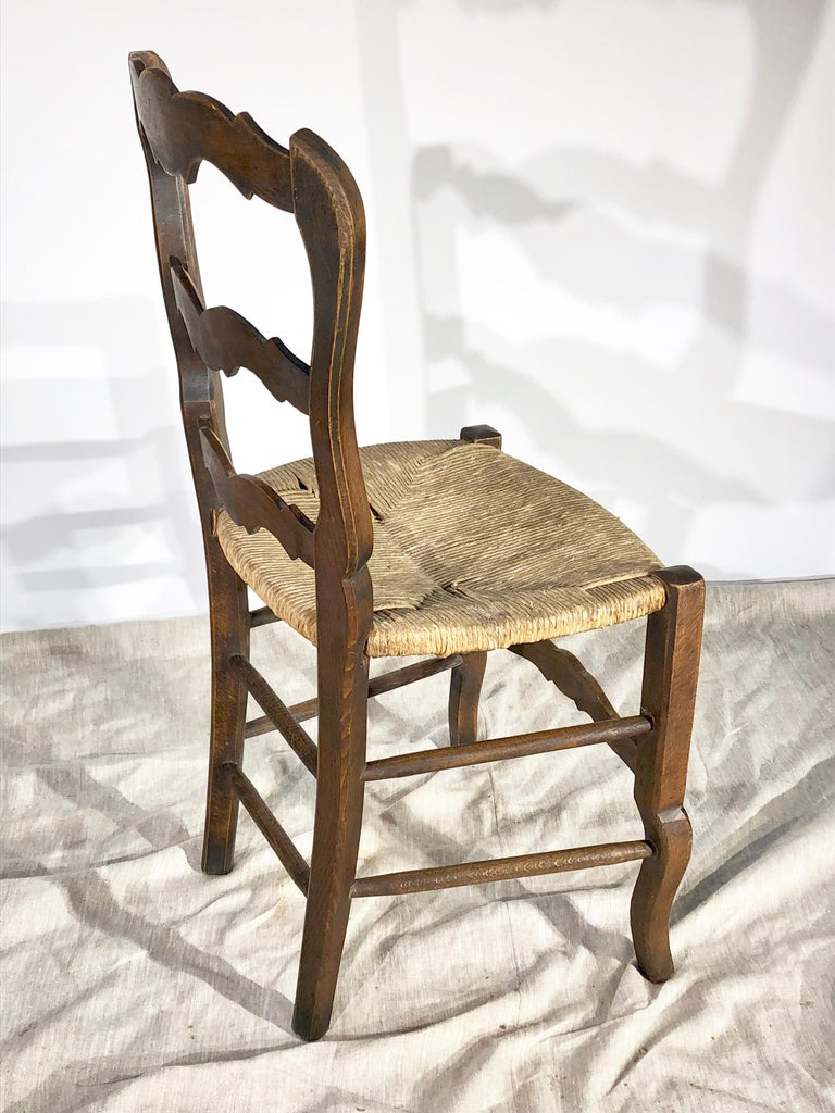 Set of 8 French Country Dining Chairs 2