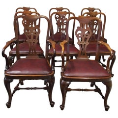 Set of 8 George II Style Armchairs