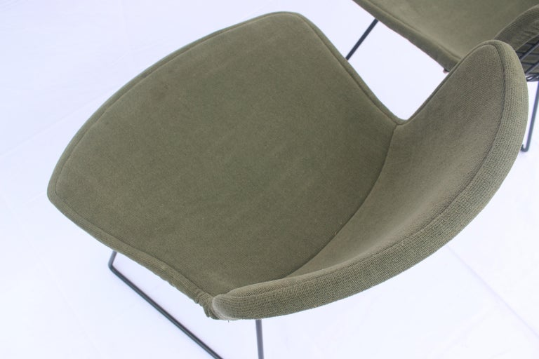 Set of 6 or 8 Harry Bertoia for Knoll Wire Chairs, 1960s-1970s For Sale 6