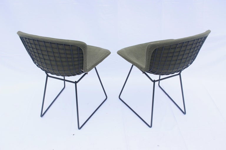 20th Century Set of 6 or 8 Harry Bertoia for Knoll Wire Chairs, 1960s-1970s For Sale