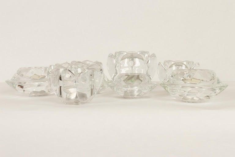 Set of 8 Holmegaard Glass Candleholders, 1980s  For Sale 7