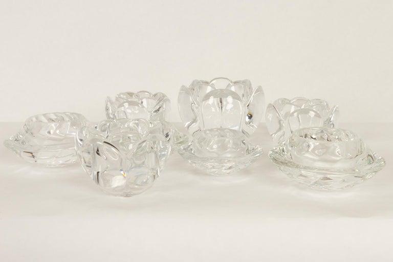 Set of 8 Holmegaard Glass Candleholders, 1980s  For Sale 9