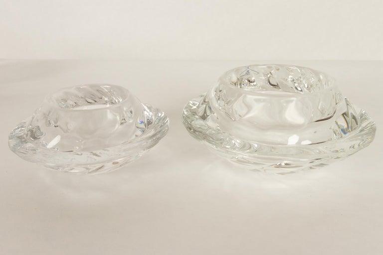 Set of 8 Holmegaard Glass Candleholders, 1980s  For Sale 10