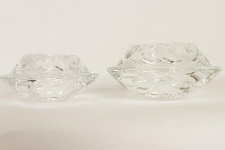 Set of 8 Holmegaard Glass Candleholders, 1980s  For Sale 11
