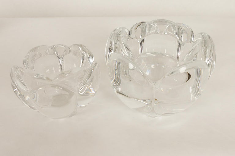 Set of 8 Holmegaard Glass Candleholders, 1980s  For Sale 12