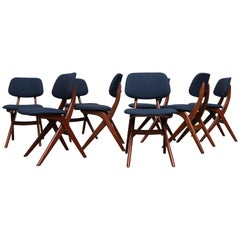 "Set of 8 Hovman Olsen Style ""Pelican"" Dining Chairs for Webe"