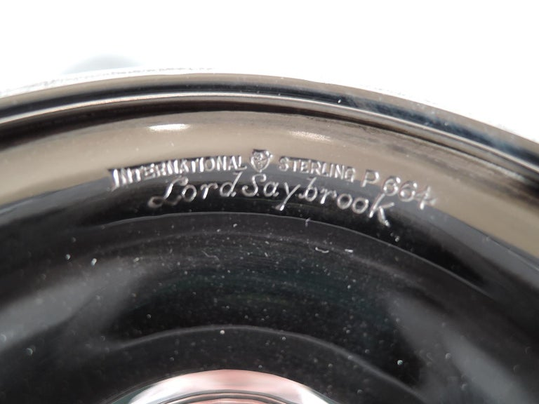 Set of 8 International Lord Saybrook Sterling Silver Goblets 1