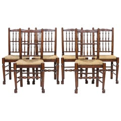 Set of 8 Lancashire Dining Chairs