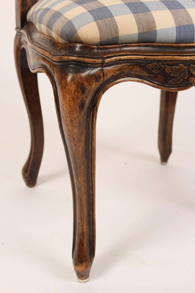 Set of 8 Louis XV Provincial Dining Room Chairs 5