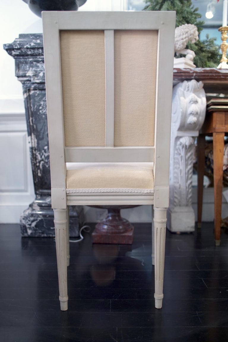 Set of 8 Louis XVI Style Chairs For Sale 6