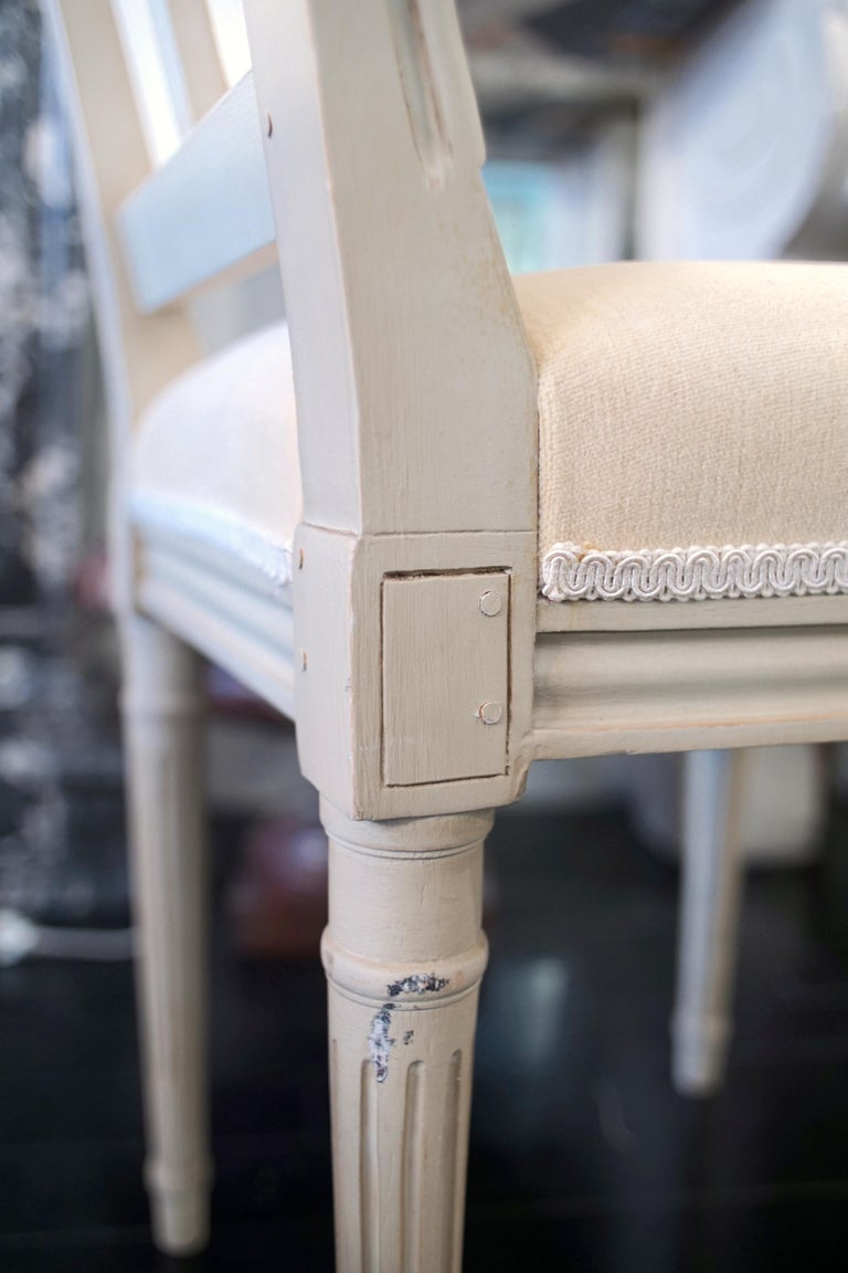 Set of 8 Louis XVI Style Chairs For Sale 10