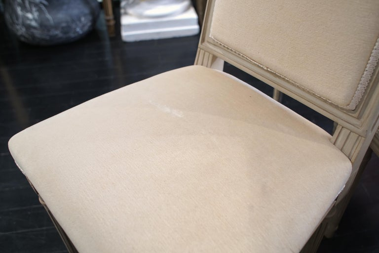 Set of 8 Louis XVI Style Chairs For Sale 3