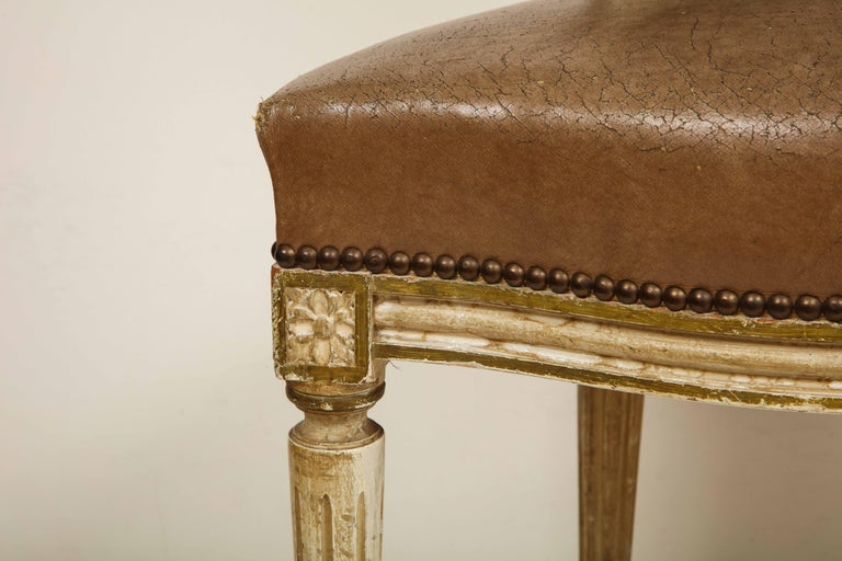 Set of 8 Louis XVI Style Dining Chairs For Sale 7