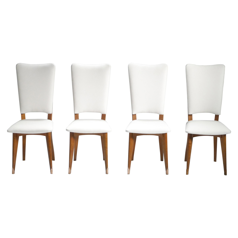 Set of 8 Midcentury Scandinavian Danish Teak Chairs, 1960s