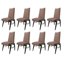 Set of 8 Dining Chairs by Eugenio Escudero