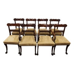 Set of 8 Morison and Co. Style Chairs
