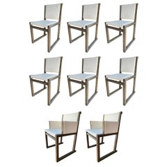 "Set of 8 ""Musa"" Chairs by Antonio Citterio for Maxalto"