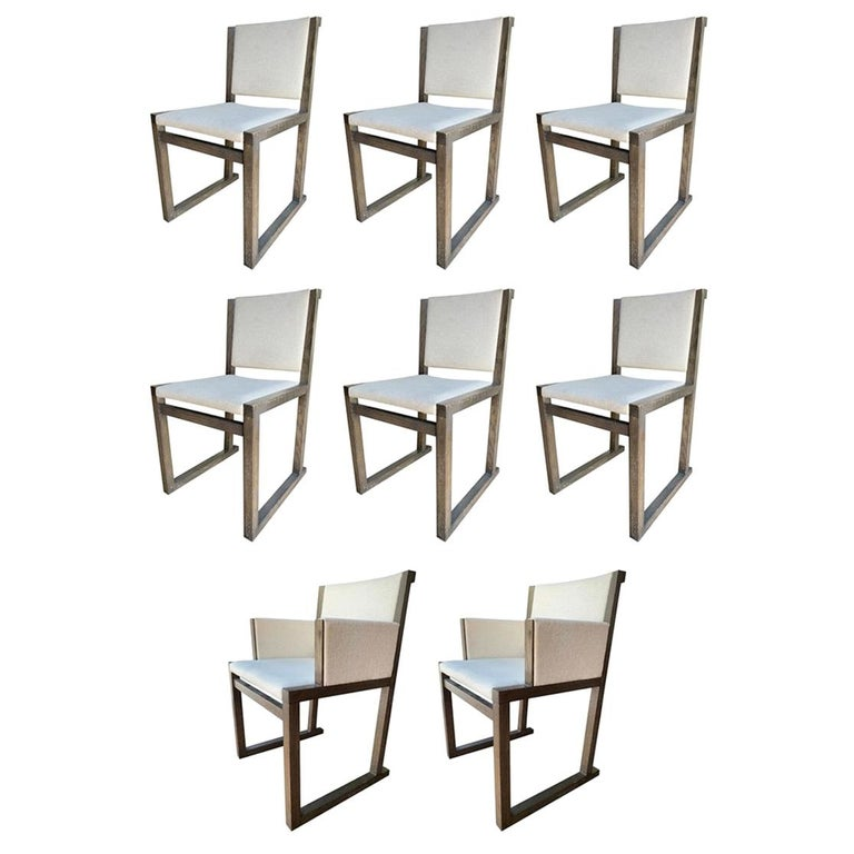 """Set of 8 """"Musa"""" Chairs by Antonio Citterio for Maxalto For Sale"""