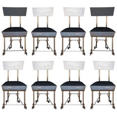 Set of 8 One of a Kind Modernist Dining Chairs