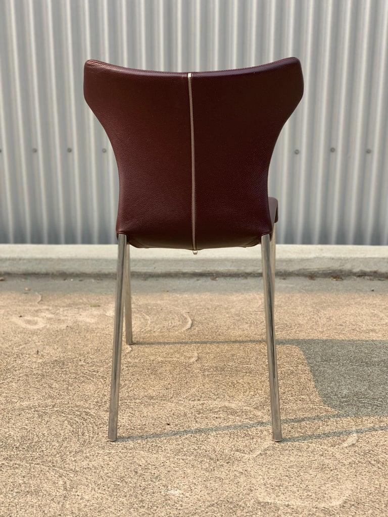 Italian Set of 8 Papilio Chairs by Naoto Fukasawa for B&B Italia For Sale