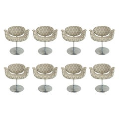 Set of 8 Pierre Paulin for Artifort Dining Chairs