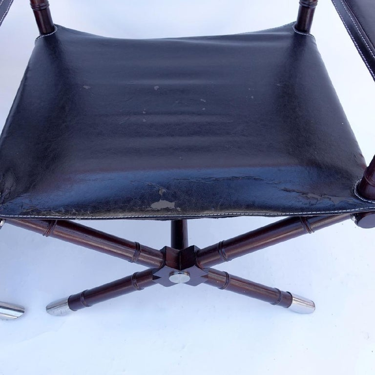 Set of 8 Ralph Lauren Style Director's Chairs For Sale 1