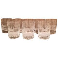 Set of 8 Rowland Ward Old Fashion Glasses