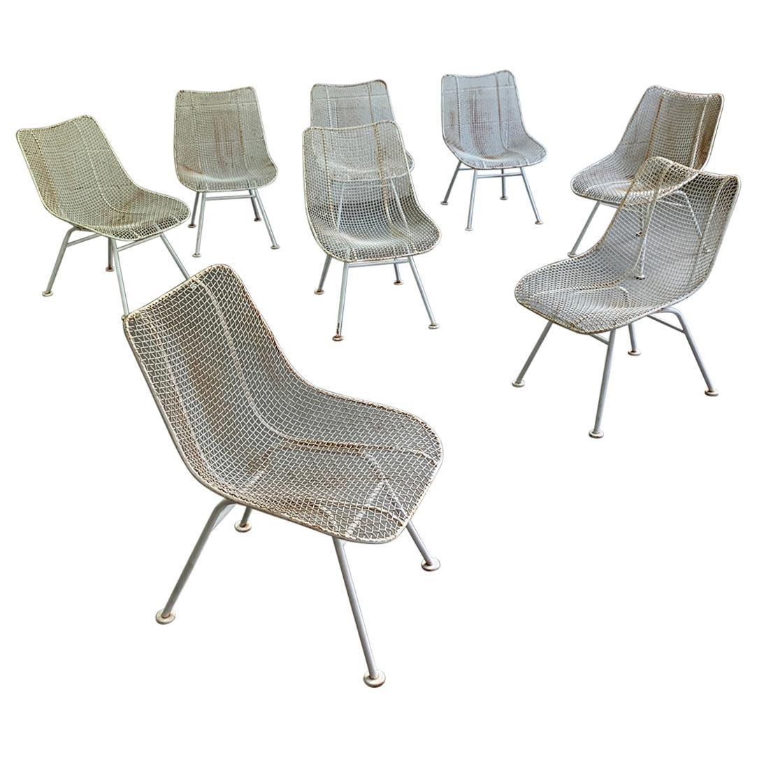 Set of 8 Russell Woodard Sculptura Side Chairs