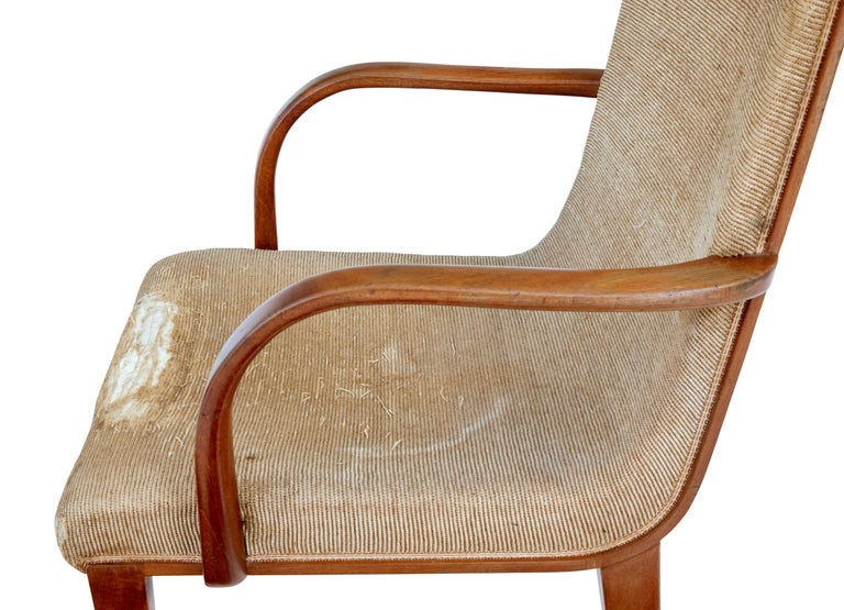 Woodwork Set of 8 Scandinavian Teak Mid-20th Century Dining Chairs For Sale