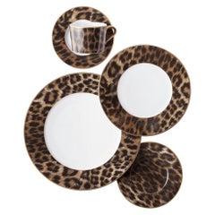 Set of 8 Settings of Ralph Lauren Hutchinson Porcelain Dinnerware