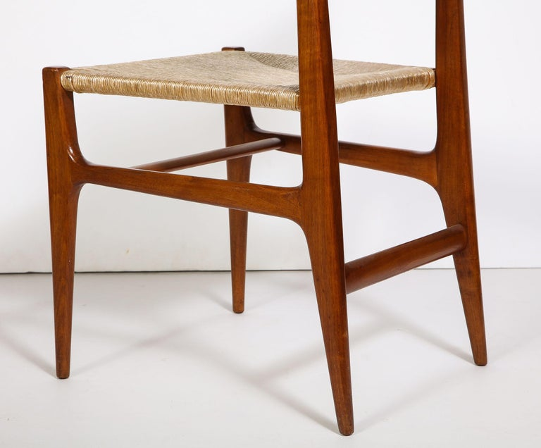 Set of 8 Side Chairs by Gio Ponti for M. Singer & Sons For Sale 4
