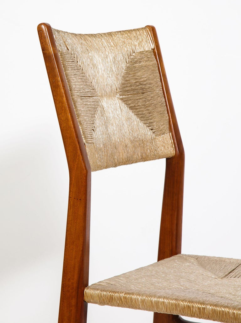 Set of 8 Side Chairs by Gio Ponti for M. Singer & Sons For Sale 6
