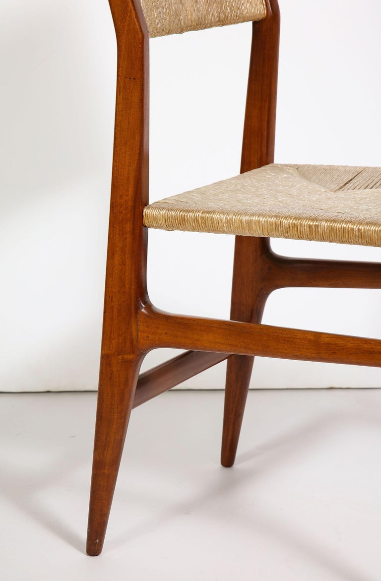 Set of 8 Side Chairs by Gio Ponti for M. Singer & Sons For Sale 7