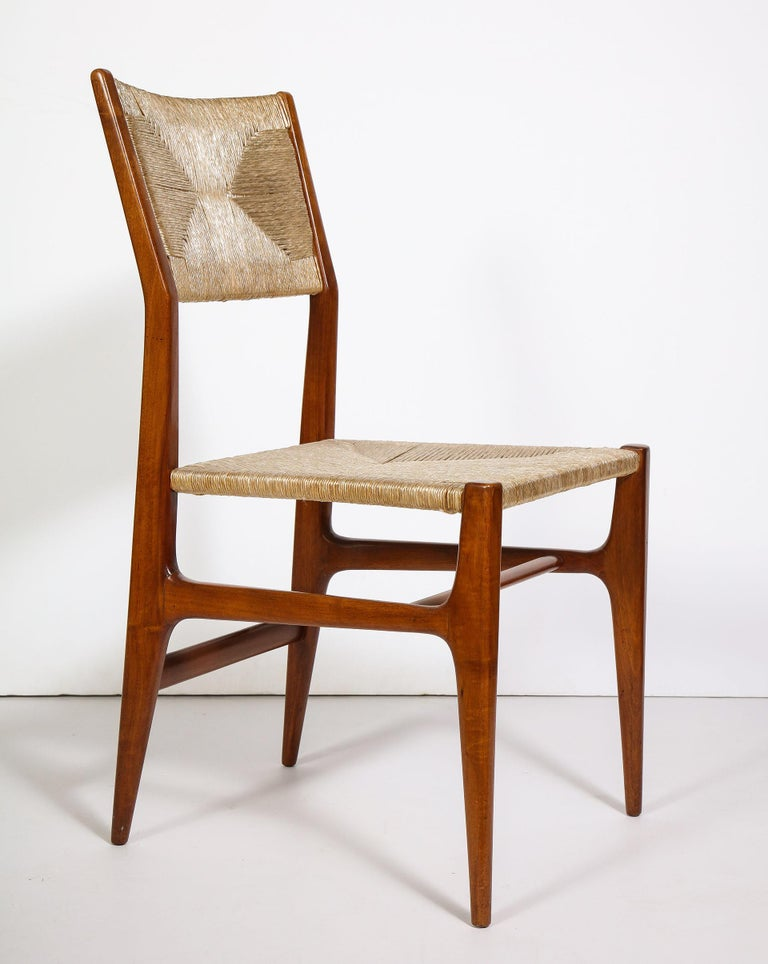 Set of 8 Side Chairs by Gio Ponti for M. Singer & Sons For Sale 8