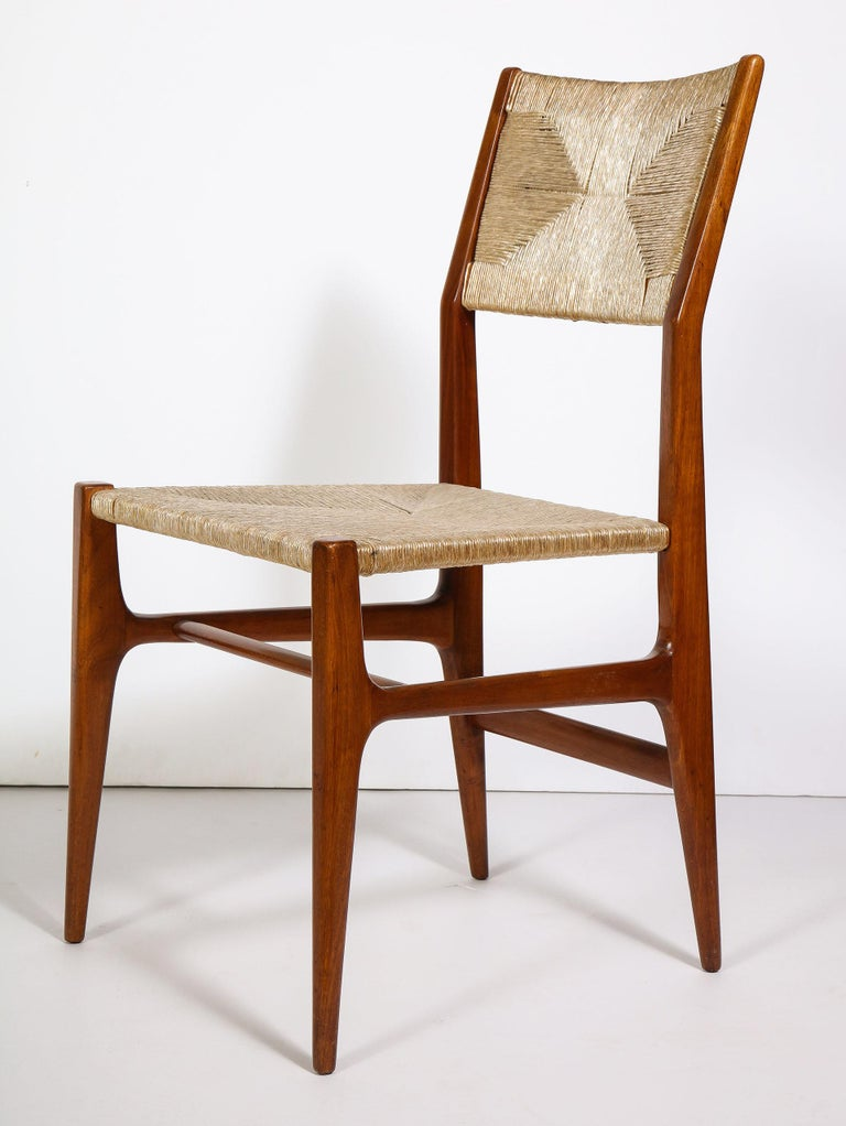 20th Century Set of 8 Side Chairs by Gio Ponti for M. Singer & Sons For Sale