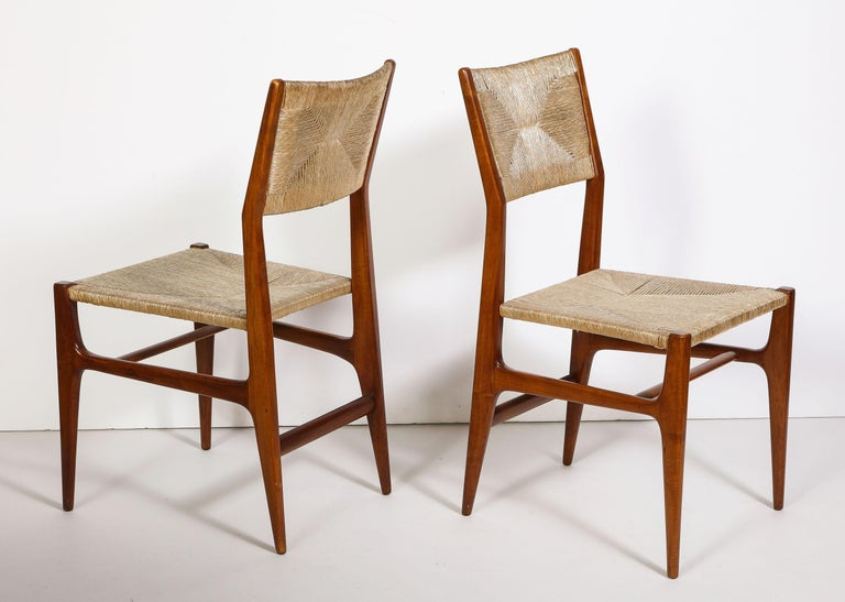 Set of 8 Side Chairs by Gio Ponti for M. Singer & Sons For Sale 1