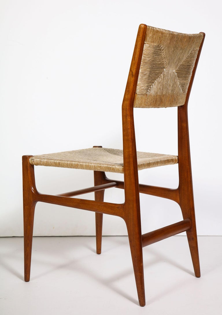 Set of 8 Side Chairs by Gio Ponti for M. Singer & Sons For Sale 2