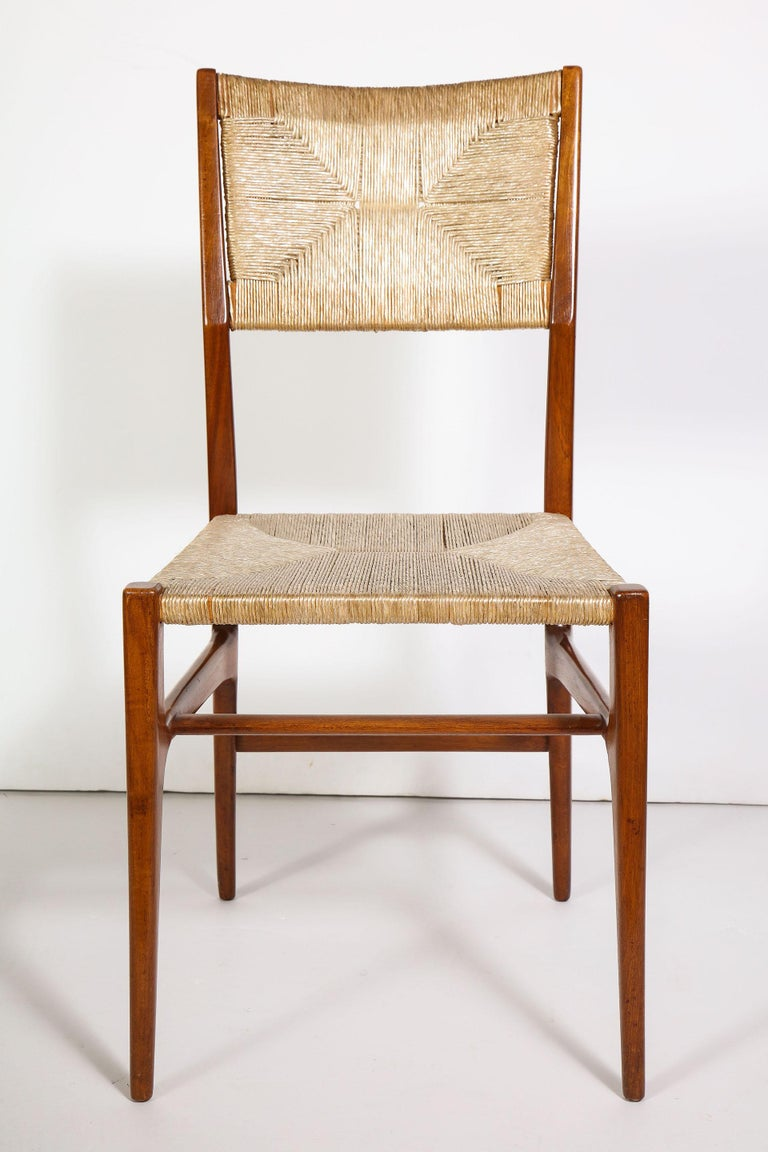 Set of 8 Side Chairs by Gio Ponti for M. Singer & Sons For Sale 3
