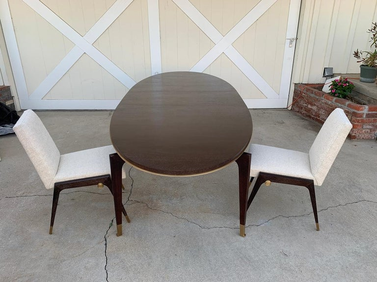 Set of 8 Sling Side Chairs by Thomas Pheasant for Baker For Sale 8