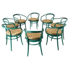 Set of 8 Thonet Bentwood Dining Chairs