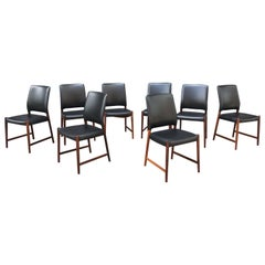 Set of 8 Torbjorn Afdal Rosewood Dining Chairs