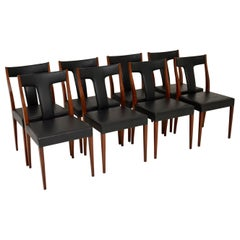 Set of 8 Vintage Dining Chairs by Robert Heritage