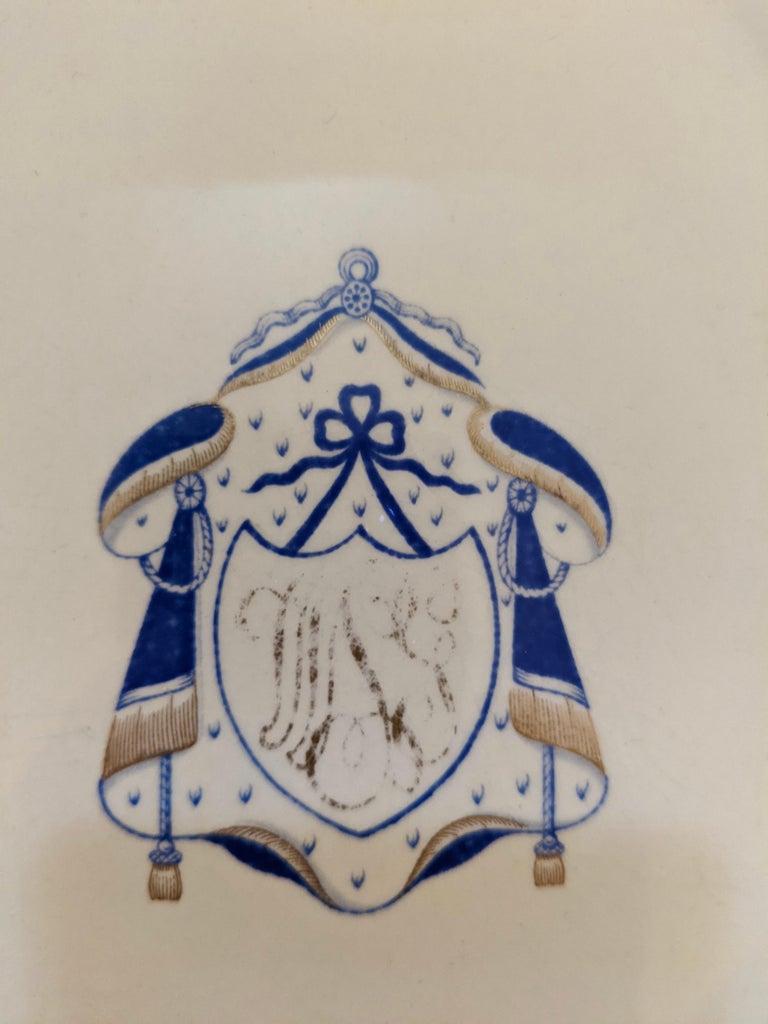 19th Century Set of 9 Antique Copeland Spode Dinner Plates For Sale