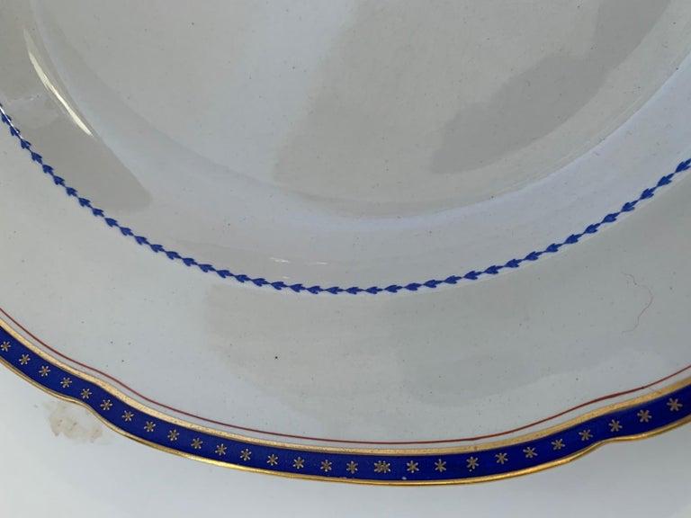 Set of 9 Antique Copeland Spode Dinner Plates For Sale 2